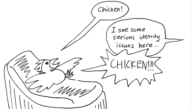 Chicken Vs. Psychiatrist