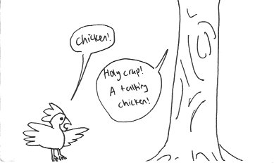 Chicken vs. Tree, Part 1