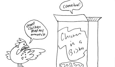 Chicken vs. Chicken-In-A-Biskit, Part 2