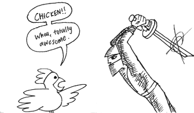 Chicken vs. Real Ultimate Power
