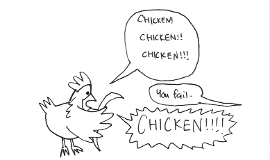 Chicken vs. Speech Exam
