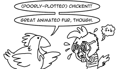 Chicken vs. Disney's inability to write quality animated movies