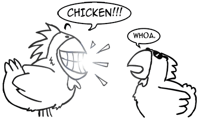 Chicken vs. Teeth