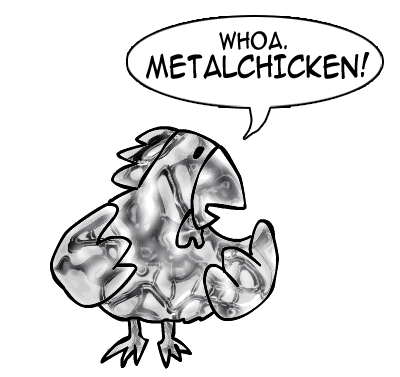 Chicken vs. Metallurgical Accident, Part 2