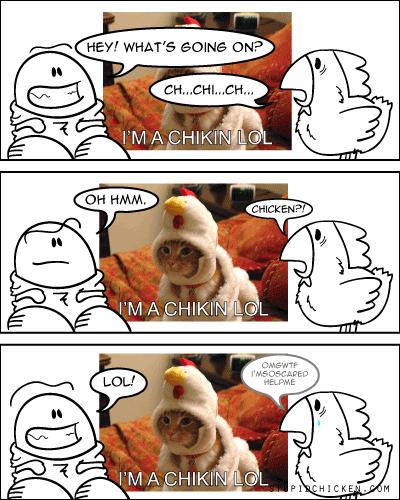Chicken vs. LOLchicken