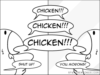 Chicken vs. Mirror