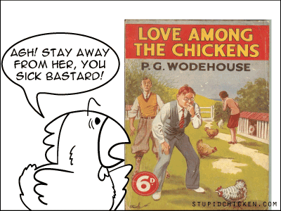 Chicken vs. PG Wodehouse