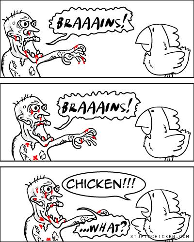Chicken vs. Zombie